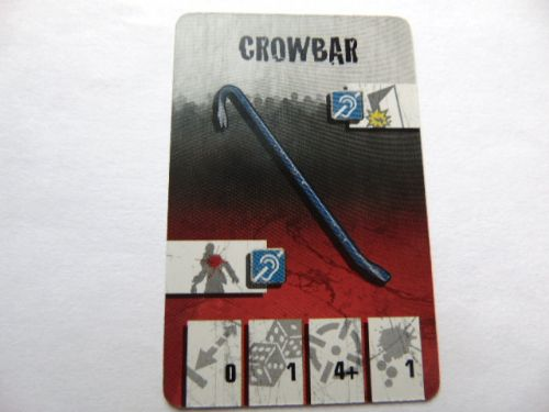 survivor equipment card (crowbar)